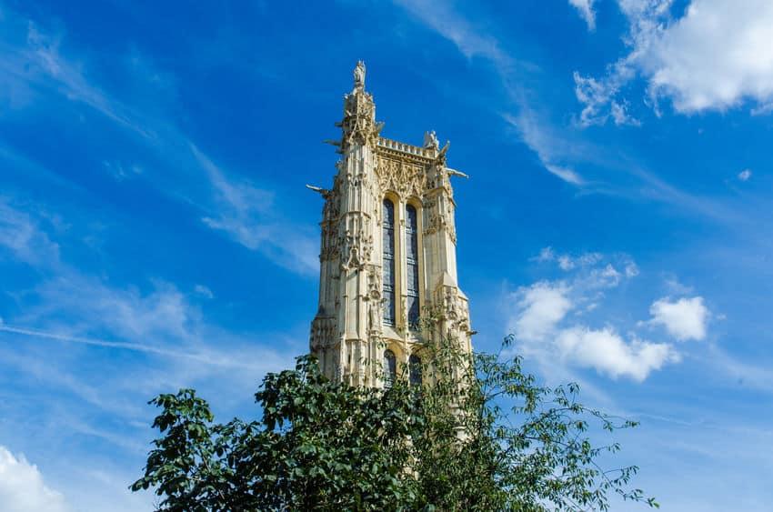 מגדל סן ז'אק פריז- נוף נפלא בן 500 שנה