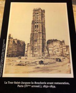 מגדל, מגדל סן ז'אק פריז- נוף נפלא בן 500 שנה