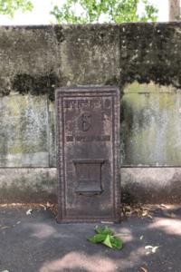 סימן מרחק האחרון בפריז צילום: ניר יבלונקה