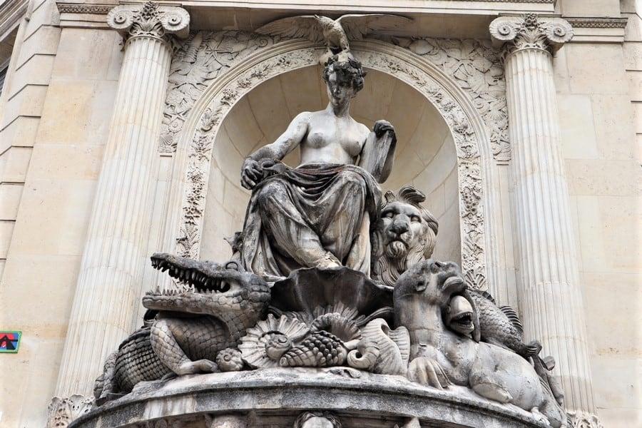 מזרקת ג'ורג' קובייה פריז: מחווה למדען דגול