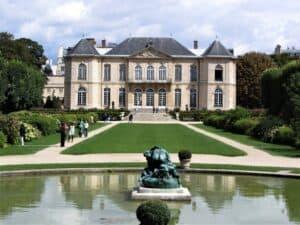 מוזיאון רודן פריז(אוטל בירון) מבט מהגינה צילום: ניר יבלונקה