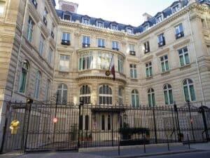 Hôtel_Landolfo-Carcano כיום שגרירות קטאר פריז