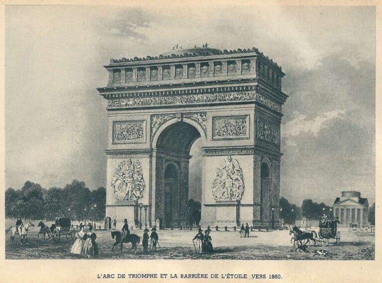 שארל דה גול, כיכר שארל דה גול- אטואל פריז והשדרות המרהיבות