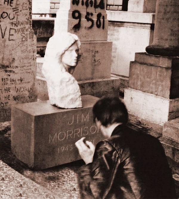 ג'ים מוריסון, ג'ים מוריסון בפריז: סופה של אגדת רוק